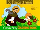 St Francis of Assisi Catholic Story Coloring…