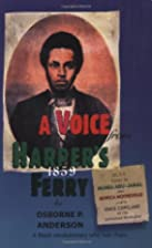 A Voice from Harper's Ferry by Osborne…