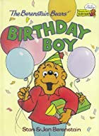 The Berenstain Bears' Birthday Boy by Stan…