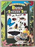 Jay, Leslie: Enter the World of Bugs a Book &amp; Sticker Set/41 Vinyl Stickers and Book