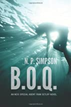 B.O.Q.: An NCIS Special Agent Fran Setliff…