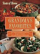 Taste of Home Grandma's Favorites by Taste…
