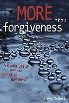 More Than Forgiveness: A Contemporary Call…