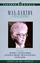 May Sarton Reading Her Poetry by May Sarton