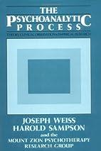 The psychoanalytic process : theory,…