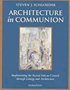 Architecture in Communion: Implementing the…