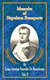 Phipps, Ramsay Weston: Memoirs of Napoleon Bonaparte