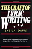 Davis, Sheila: The Craft of Lyric Writing