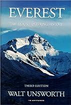 Everest by Walt Unsworth