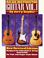 Basic Instructor Guitar, Vol. 1 by Jerry…
