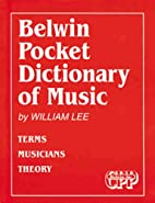 Belwin Pocket Dictionary of Music: Terms…