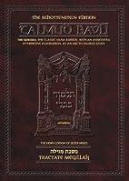 Tractate Megillah (The Artscroll series) by…