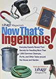 Yankee Magazines Now Thats Ingenious Everyday Experts Reveal Their Secrets for