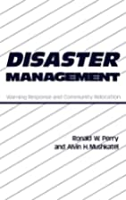 Disaster Management: Warning Response and…