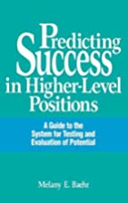 Predicting Success in Higher-Level…
