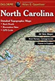 Delorme: North Carolina Atlas & Gazetteer (North Carolina Atlas and Gazetteer)