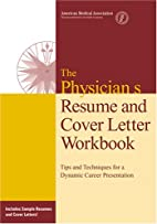 Physicians' Resume and Cover Letter…