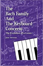 The Bach Family and the Keyboard Concerto:…