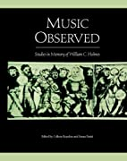 Music observed : studies in memory of…
