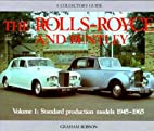 Rolls Royce and Bentley Collector's Guide…