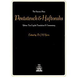 The Pentateuch and Haftorahs: Hebrew Text English Translation and