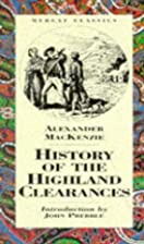 The History Of The Highland Clearances…