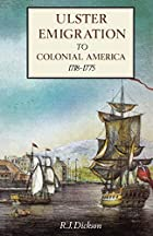 Ulster Emigration to Colonial America,…