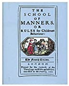 The School of Manners by Victoria & Albert…