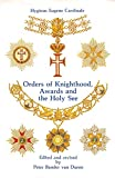 Van Duren, Peter Bander: Orders of Knighthood, Awards, and the Holy See