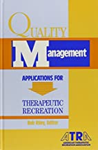 Quality Management: Applications for…
