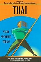 Thai - Language/30 - A conversation course…