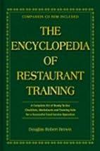 The Encyclopedia Of Restaurant Training: A…
