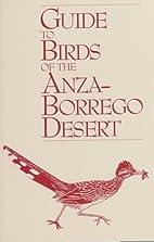 Guide to Birds of the Anza-Borrego Desert by…