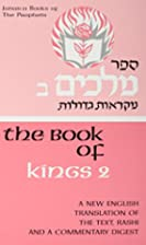 Book of Kings Two (Judaica Books of the…