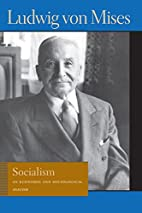 Socialism: An Economic and Sociological…