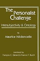 The personalist challenge :…
