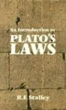 Introduction to Plato's Laws by R. F.…