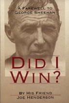 Did I Win? by Joe Henderson