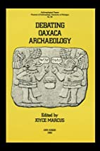 Debating Oaxaca Archaeology (Anthropological…