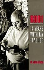 Rudi: 14 Years With My Teacher by John Mann