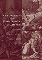 Annotations and Meditations on the Gospel:…