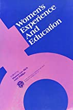 Women's experience and education by Sharon…