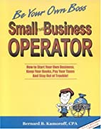 Small Time Business Operator, 10th Edition:…