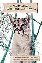 Mammals of California and Nevada/Selected…