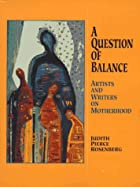A Question of Balance: Artists and Writers…
