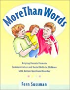 More Than Words: Helping Parents Promote…