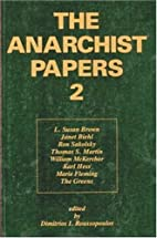 The Anarchist Papers 2 (v. 2) by Dimitrios…