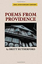 Poems from Providence by Brett Rutherford