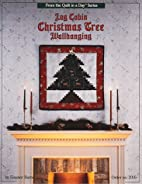 Log Cabin Christmas Tree Wallhanging by…