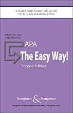 APA: The Easy Way! [Updated for APA 6th…